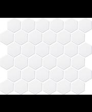 LPC Hexagon 5,1x5,9 matta valkoinen mosaiikkilaatta