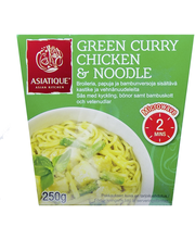 Asiatique Green Curry Chicken & Noodle 250g