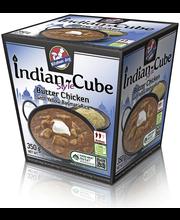 Kitchen Joy 350g Indian-Cube, kanaa voin kera ja keltaista basmatiriisiä, pakasteateria