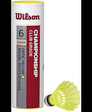 Wilson championship 6 sulkapallo punainen