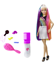 Barbie Nukke Sateenkaarihiukset FXN96