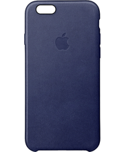 Apple iPhone 6s Plus Leather Case Midnight Blue kuoret