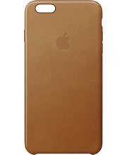 Apple iPhone 6s Leather Case Saddle Brown kuoret