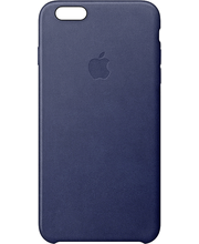 Apple iPhone 6s Leather Case Midnight Blue kuoret