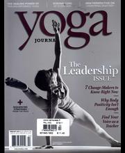 Yoga Journal Terveys Kauneus