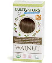 Cultivator's luomusertifioitu kasvihiusväri walnut 100g