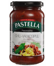 Pastella 360g chili-valkosipuli pastakastike