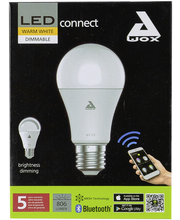 LED-älylamppu EGLO CONNECT 9W E27 A60 lämmin valkoinen himmennettävä