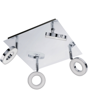 Eglo kylpyhuoneen kattospotti 4-osainen Gonaro ip44