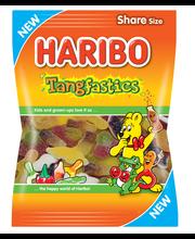 HARIBO Tangfastics 250g hedelmän ja colan makuinen viinikumi ja vaahto