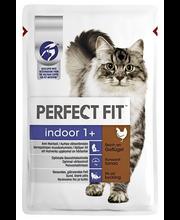 Perfect Fit 85g Indoor kanaa hyytelössä, täysrehua aikuisille kissoille