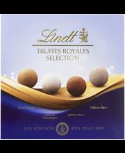 Lindt Truffes Royales Selection 170g 4 varianttia tryffeli täyte maito tumma suklaa
