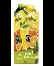 Pfanner 1l FairTrade Appelsiini täysmehu