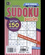 Kappa Sudoku Puzzles, ristikot