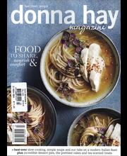 Donna Hay Magazine Ruoka ja juhlat
