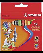 Stabilo Yippy-wax vahaliitu 12 väriä