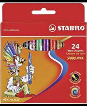 Stabilo Yippy-wax vahaliitu 24 väriä