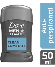 Dove Men+Care 50ml Clean Comfort Stick