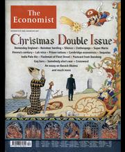 The Economist uutis-, talous- ja tiedelehdet