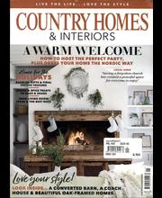 Country Homes & Interiors aikakauslehti