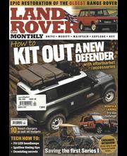 Landrover Monthly aikakauslehti