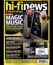 Hi-Fi News aikakauslehti