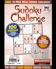 Sudoku Challenge aikakauslehti