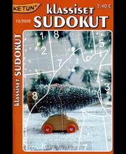 Ketun klassiset sudokut tehtävälehti
