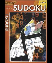 Ketun Sudoku ristikkolehti