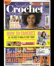 Simply Crochet aikakauslehti