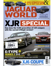 Jaguar World Monthly 1 kpl, autot