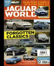 Jaguar World Monthly aikakauslehti