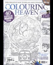 Colouring Heaven aikakauslehti
