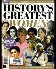 All about History Greatest Women in History aikakauslehti