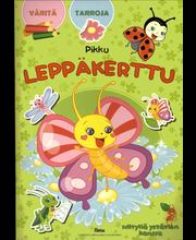 Pikku Leppäkerttu Tarra-värityskirja kirja