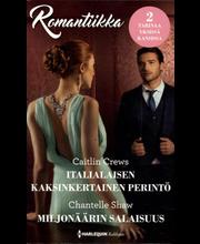 Harlequin Romantiikka pokkari