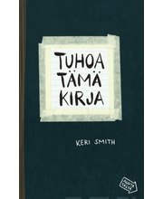 Wsoy Keri Smith: Tuhoa tämä kirja