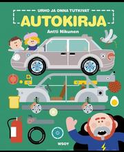 Wsoy Antti Nikunen: Urho ja Onna tutkivat: Autokirja