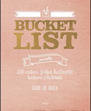 De rijck, bucket list par