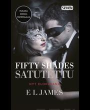 James, E.L: Fifty Shades - Satutettu (leffakansi) kirja