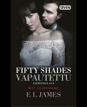 James, E.L: Fifty Shades  Vapautettu (Elokuvakansi) kirja