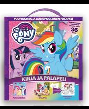 My Little Pony - kirja ja kaksipuoleinen palapeli