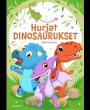 Värityskirja, Hurjat Dinosaurukset