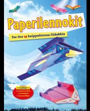 Gummerus Pirkko Roinila (suom.): Paperilennokit - tee itse 19 huippuhienoa liidokkia