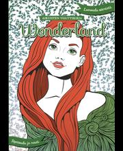 Aikuisten Värityskirja Wonderland kirja