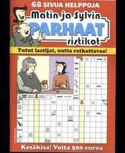 Matin ja Sylvin Parhaat Ristikot kirja