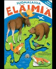 Suomalaisia eläimiä. Tarratietokirja