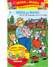 Satukustannus Miina ja Manu Routa porsaan kotiin ajaa CD-satuaarteet 32