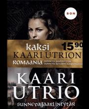 Utrio, Kaari: Sunneva jaarlintytär & Sunneva keisarin kaupungissa (Tuplapaketti) kirja
