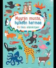 Myyrän musta, hylkeen harmaa - Värikäs eläinkirjani